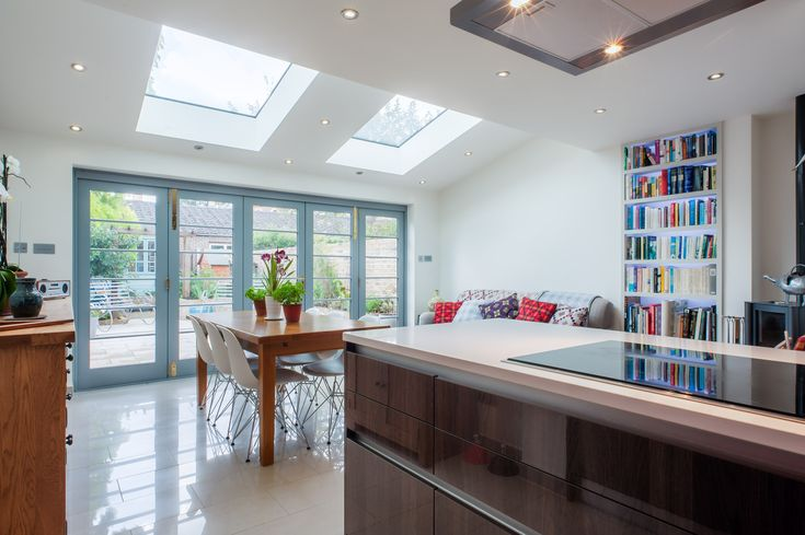 Lovely Doors in H&G Kitchen extension