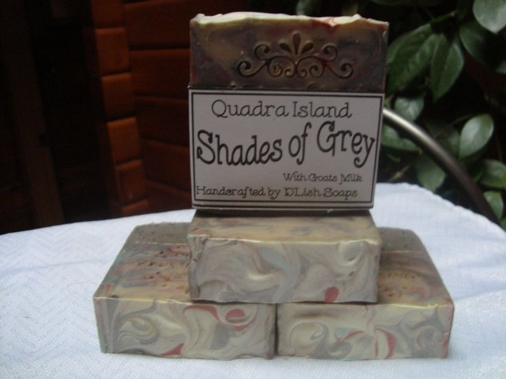 Deluxe soap bar made with fresh goats milk, scented with Nautical, loaded with Dead Sea Mineral Mud.