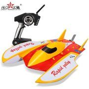 Wltoys WL913 Brushless Hydro F1 Boat High Speed Racing RC Boat Water-Cooling System High Speed 50km/h RTR R/C