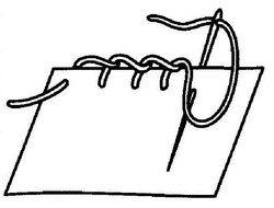 петельный обметочный шов