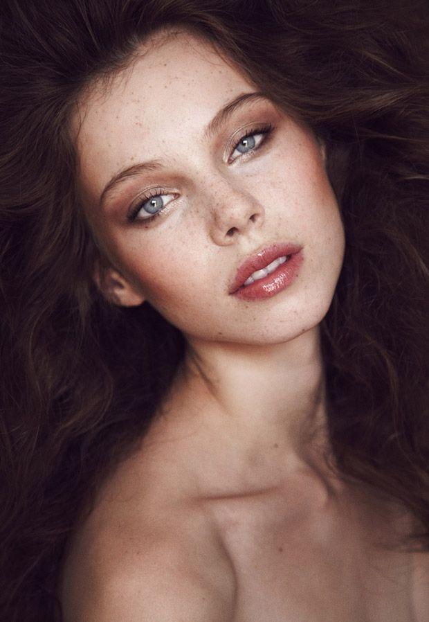 Freckle Beauty Shot