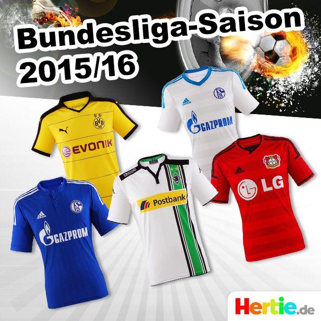 http://www.hertie.de/Sportbekleidung/ #Bundesliga #Schalke #BayernMünchen #Dortmund #BVB #S04 #FCB