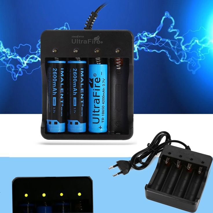 UltraFire HD-077B 18650 Lithium-ion Battery Charger Black