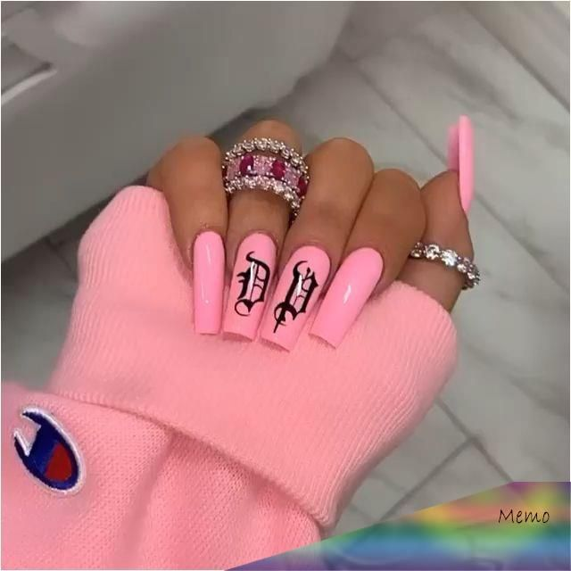 Mar 8 2020 Nails Aesthetic Nails Aesthetic Na Gel A Sthetisch Estha C Tique Des Ongles In 2020 Long Acrylic Nails Pink Nails Summer Acrylic Nails