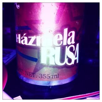 Házmela rusa, cerveza mexicana