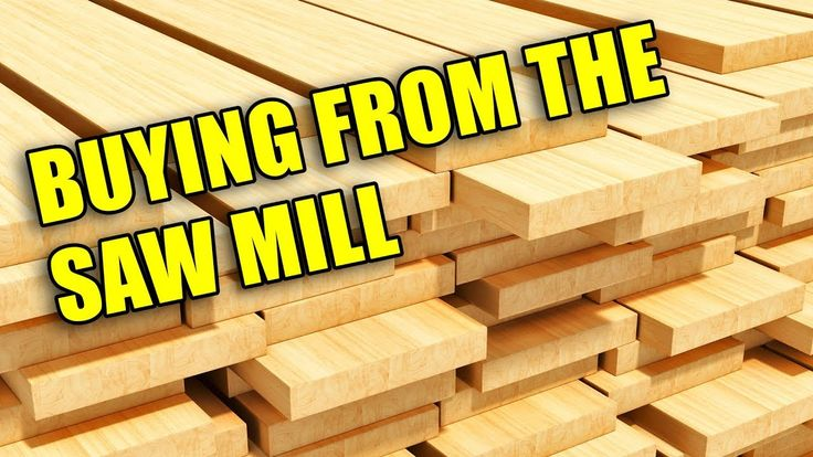 Ever wondered about buying lumber directly from the sawmill? This video reviews what you need to know to get your lumber straight from the source!  #wood #woodworking