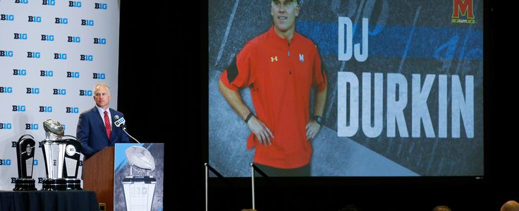 The Maryland football team attended Big Ten Media Days in Chicago on Monday.