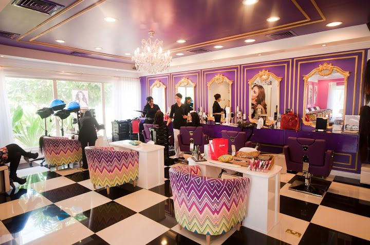 The dollhouse dubai launch hair salon d pinterest for 7 shades salon dubai