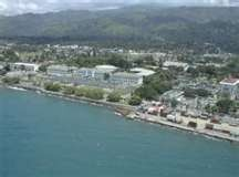 Dili, capital of East Timor