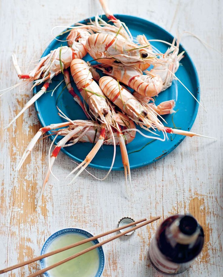Mantis prawns steamed in beer by Luke Nguyen from The Food of Vietnam | Cooked
