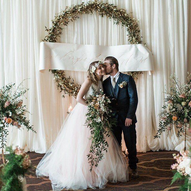 Romantic Wedding Ceremony Ideas: 17 Best Images About Backdrop Ideas On Pinterest