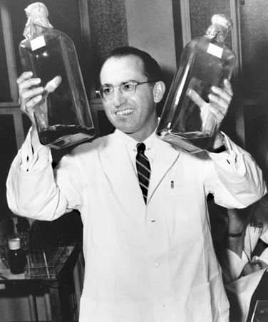 University Inventions That Changed the World: The Polio vaccine was invented by Jonas Salk at the University of Pittsburgh in 1955.  Proud to be here!!
