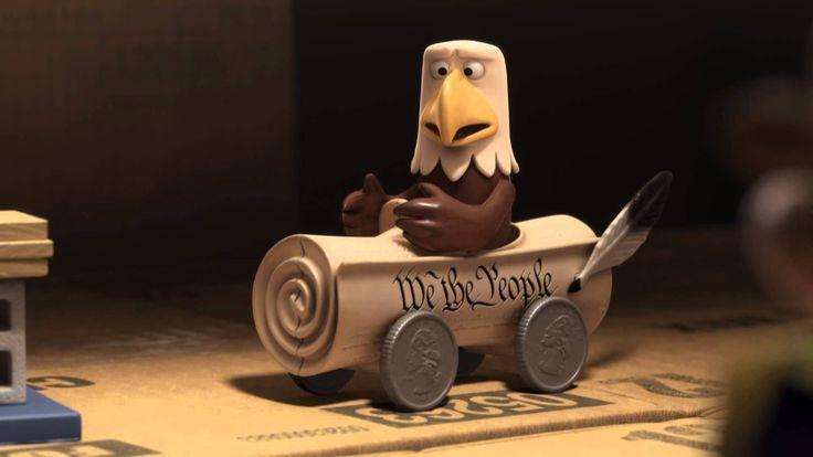Curta Toy Story: Um pequeno Grande Erro. É bem interessante o uso das fontes nessa curta porque ela está de acordo com o a história e é criativa