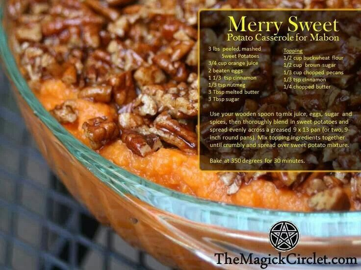 Wiccan Cakes And Ale Recipes