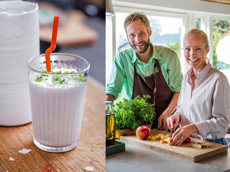 Berit Nordstrands oppskrift på sunn smoothie | Tara.no