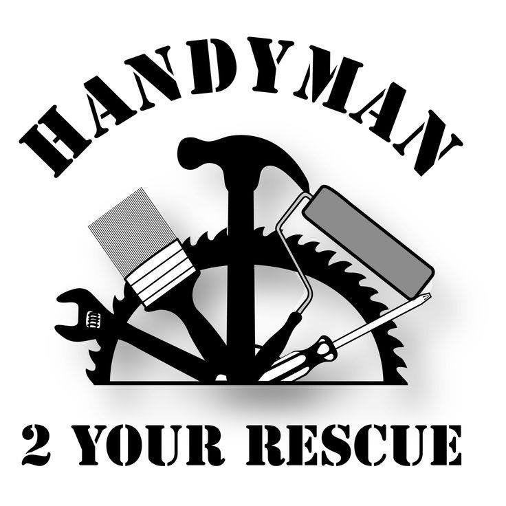 Handy Man 2 Your Rescue By Elizabethcrafts1 On Etsy Handyman Logo Home Repair Home Logo