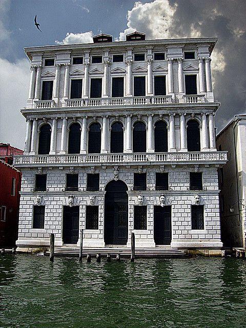 Palazzo on Canal Grande. Ca' Corner della Regina