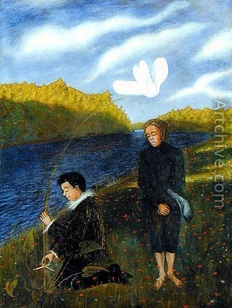 Hugo Simberg - The Wonderful Flower