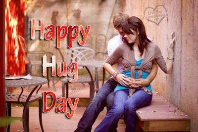 happy hug day greetings