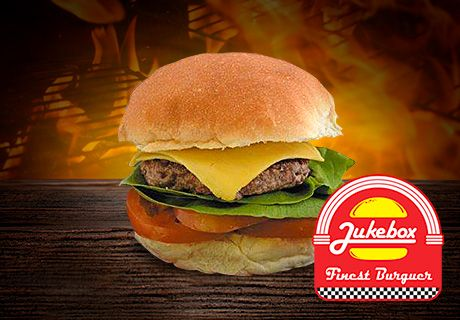"""Venha curtir suas férias na Jukebox Burger e ganhe X-salada em dobro! Isso mesmo, na compra de um X-salada, ganhe outro grátis! Entre no site ou página do Facebook para conferir as regras e venha saborear esta delícia! Site: www.jukeboxburger.com.br Página: ww.facebook.com/jukeboxburger"""""""