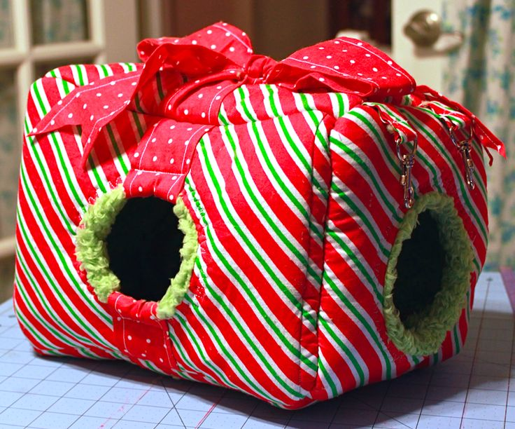 Gift Present Cube Hammock - available for purchase at:  www.rattitudehammocks.etsy.com