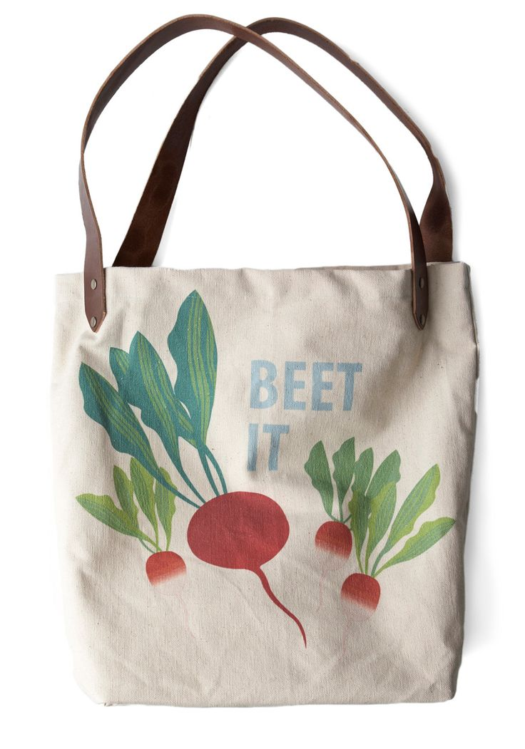 Sunday Market Tote in Beets $48.99  For groceries :)