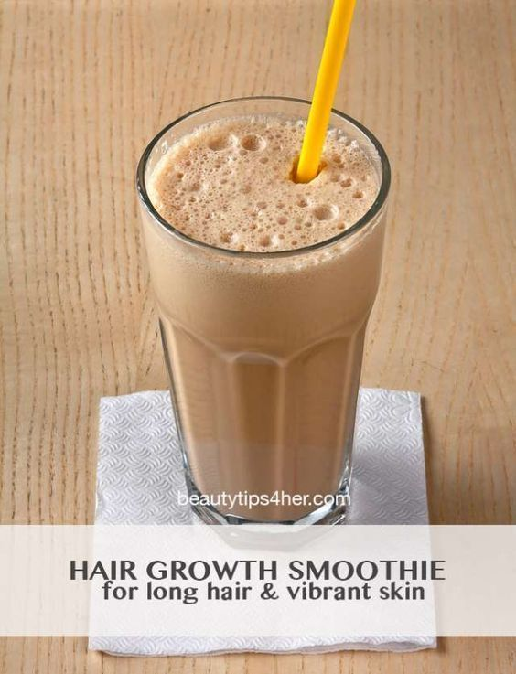 Hair Growth Smoothie - What? A Smoothie Can Help Hair Growth?