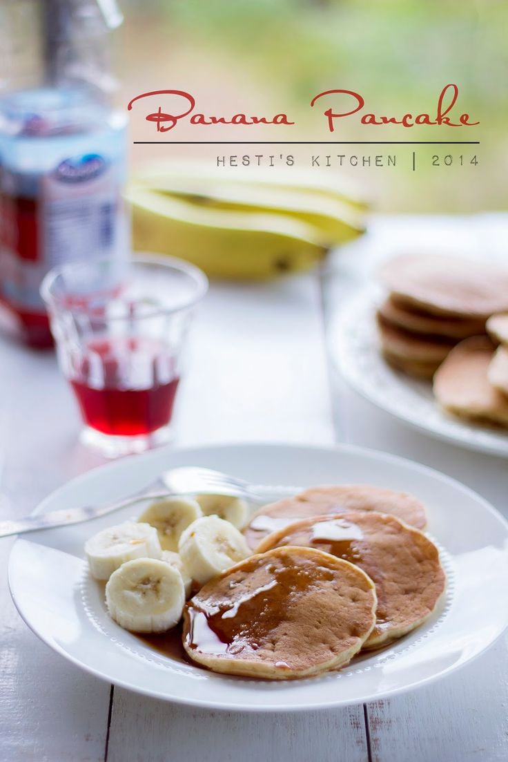 HESTI'S   KITCHEN : yummy for your tummy: Banana Pancakes dengan LOCK N LOCK  E-Cook Deco Fr...