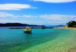 Agrapidia beach - Kalamos island (Lefkada area) by Lapis Lazouli | Living Postcards - The new face of Greece