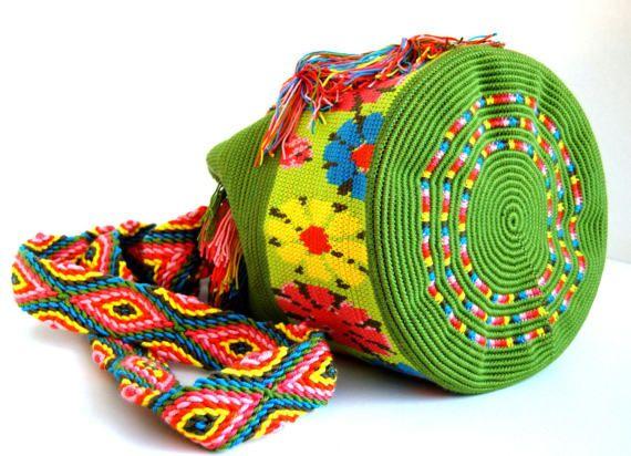 Crochet Mochila Bag Wayuu Bag Orginal Mochila Bag