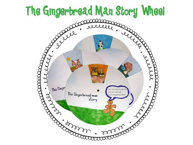 17 Best Ideas About Gingerbread Man Story On Pinterest
