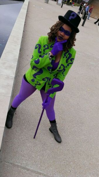 Character: The Riddler Series: DC Comics SUBMISSION