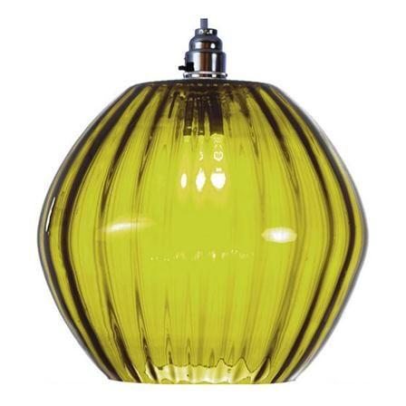 Something Green - Village Lighting Marni Pendant. Green