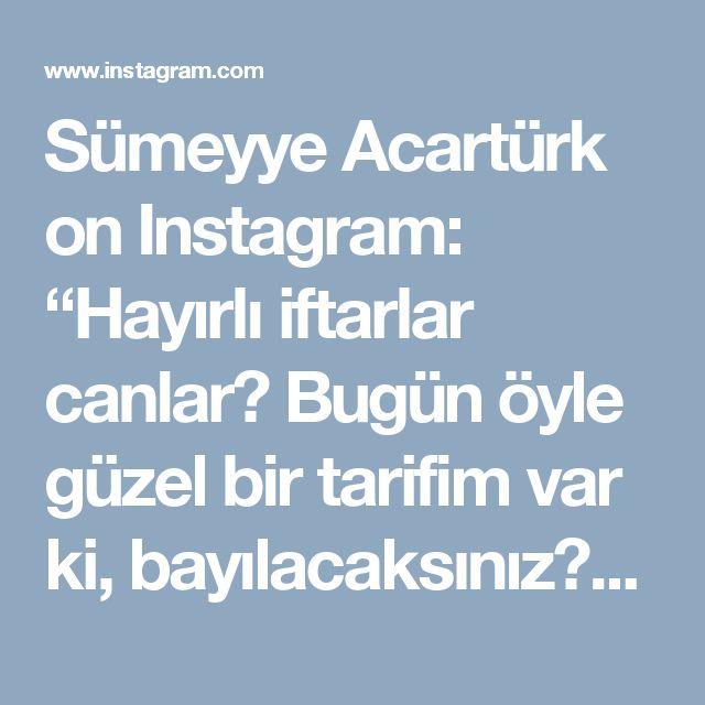 """Sümeyye Acartürk on Instagram: """"Hayırlı iftarlar canlar😊 Bugün öyle güzel bir tarifim var ki, bayılacaksınız😍Patateslerin üzerine tavuk sote, onun da üzerine beşamel sos…"""""""