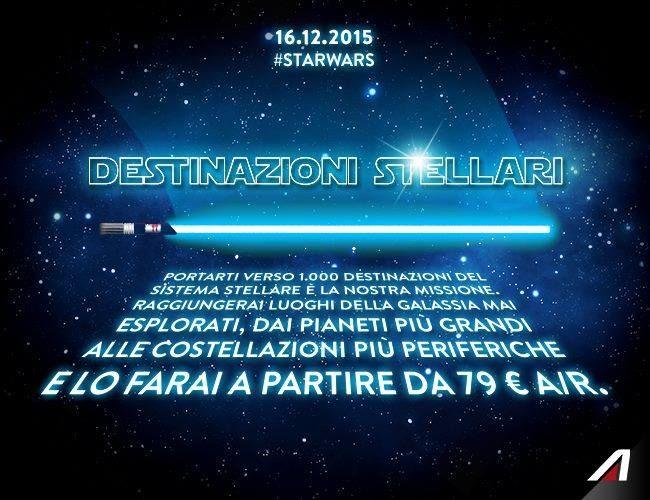 #adv  #alitalia #starwars