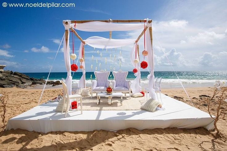 Perfect For An Outside Oceanview Ceremony At La Concha Resort San Juan Puerto Rico