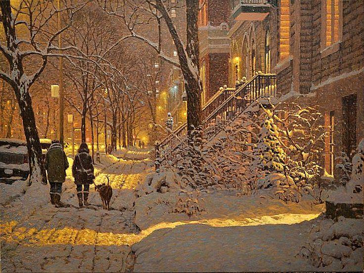 <p>Ричард Савойя — художник из Канады, создающий просто волшебные картины. Каждое изображение дарит уют и вдохновение, воспевая всю красоту и загадочн