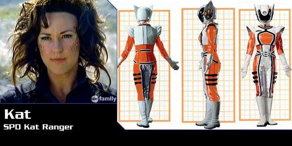 Power Rangers SPD Kat Ranger