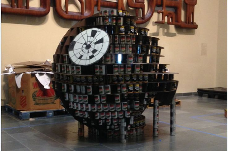 GraceHebert Architects joined AIA Baton Rouge and 9 other local firms in the 2015 Canstruction event.  Canstruction of Baton Rouge invited participants from the design/building communities to take part in a unique competition that challenges teams to build structures entirely from canned foods.  At the end of the competition all food will be donated to the Greater Baton Rouge Food Bank.