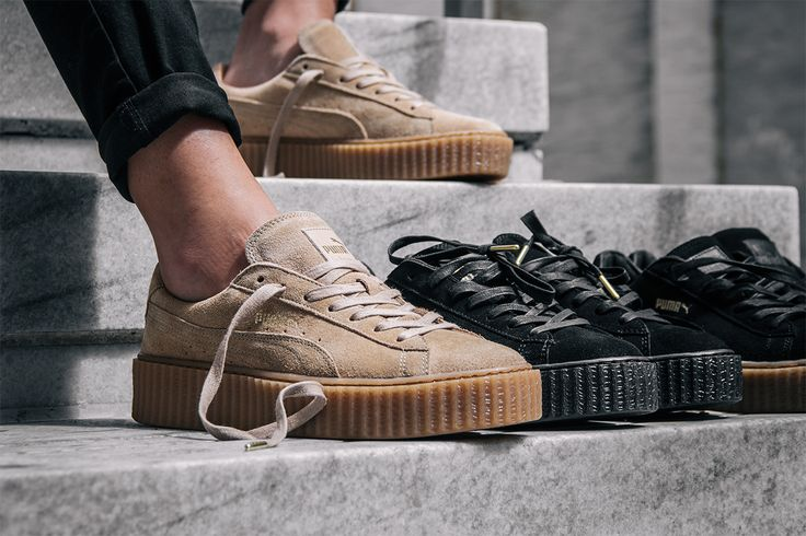 """This is the first of Ri Ri's collaboration with Puma entitled """"Fenty"""", which is Rihanna's last name."""
