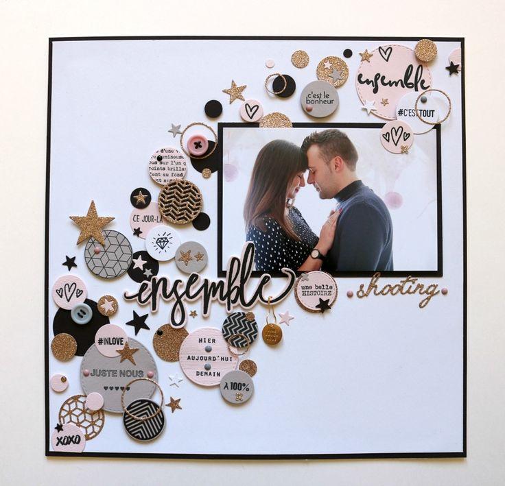 Populaire Plus de 25 idées uniques dans la catégorie Scrapbooking mariage  ZY32