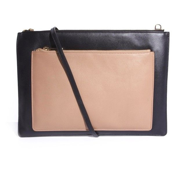 Whistles Double Rivington Leather Across Body Bag (1,760 CNY) ❤ liked on Polyvore featuring bags, handbags, shoulder bags, crossbody purses, leather handbags, leather cross body handbags, leather crossbody handbags and leather crossbody purses