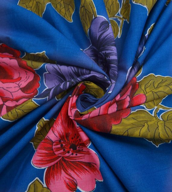 Dressmaking Fabric Cotton Fabric For Sewing Designer Crafting