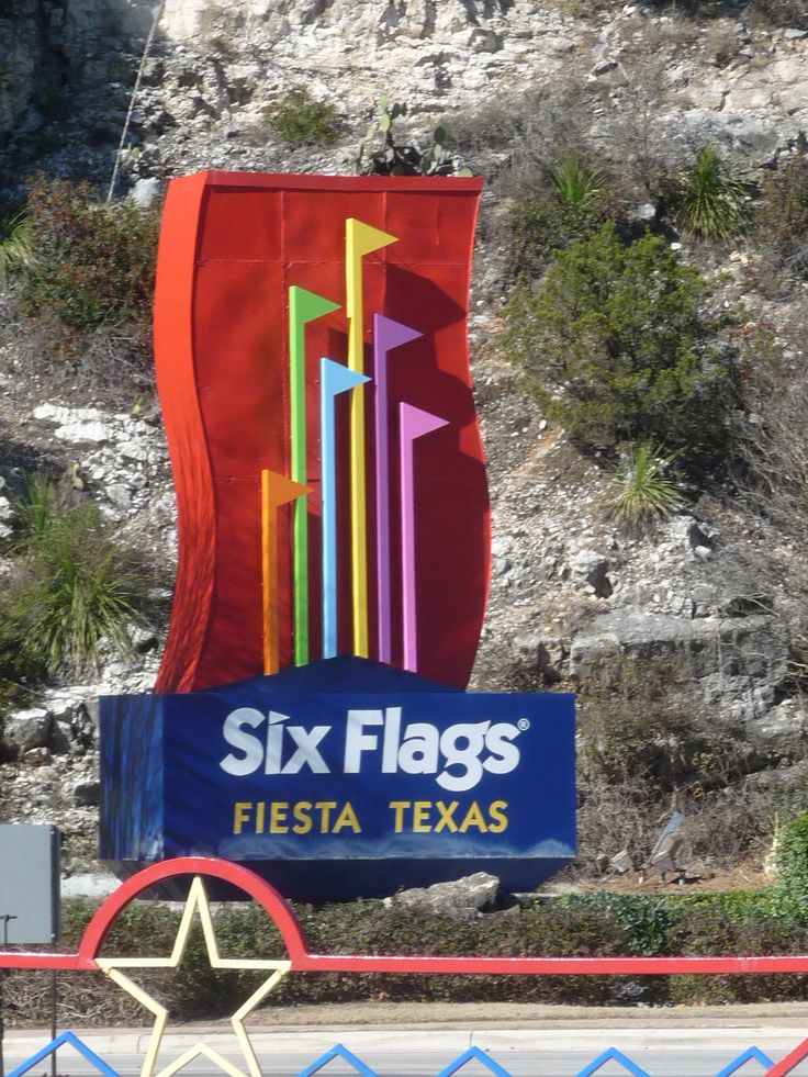 Six Flags Fiesta Texas - San Antonio, TX