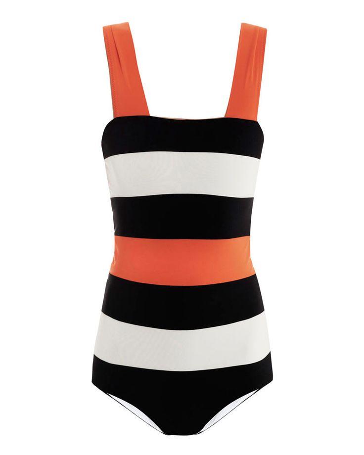 Del cut-out al retro, los 5 trajes de baño que no pueden faltar este verano EL COMPLETO ATLÉTICO. http://www.glamour.mx/moda/shopping/articulos/guia-trajes-de-bano-bikini-monokini-tipo-de-cuerpo-primavera-2013/1520