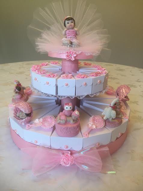 Italian Torta Bomboniere Baby Shower Cake by BomboniereFavorShop