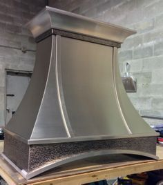 Stainless P19 - Custom Stainless Steel Range Hood - Hoods by Hammersmith