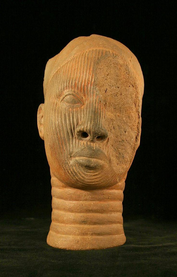 Yoruba Terracotta Head, Ife, Nigeria | African Culture ...
