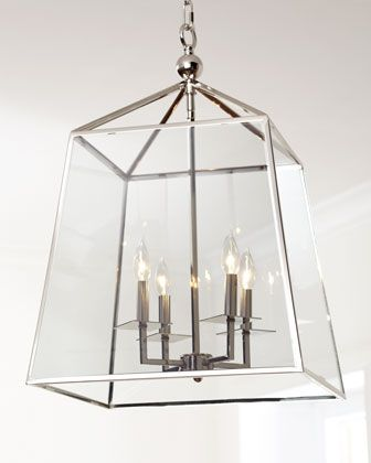 """Square Glass Chandelier by Regina-Andrew Design at Horchow. 650  18"""" W 27"""" H"""
