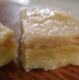 Toffee Bars with Browned Butter Frosting